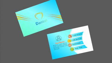 Photo of دانلود طرح لایه باز کارت ویزیت دندانپزشکی