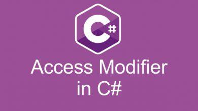 Photo of آموزش access modifiers در سی شارپ