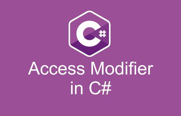 آموزش access modifiers در سی شارپ