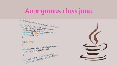 Photo of کلاس anonymous یا کلاس بی نام در جاوا