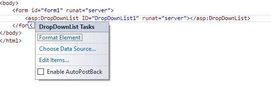 dropdownlist در asp.net