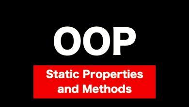 Photo of متد static در php و پراپرتی static در php
