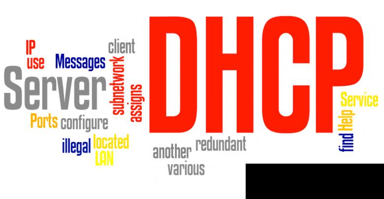 راه اندازی dhcp server