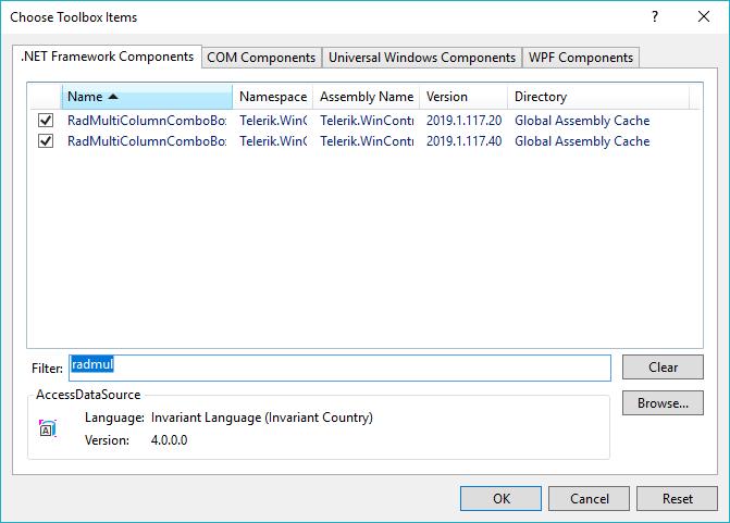 آموزش Multi Column ComboBox در سی شارپ