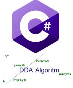 الگوریتم رسم خط به روش DDA با سی شارپ