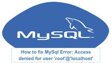 Photo of رفع خطایAccess denied for user 'root'@'localhost' در لینوکس ابونتو